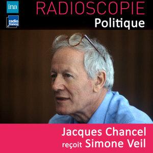 Simone Veil, Jacques Chancel Foto artis