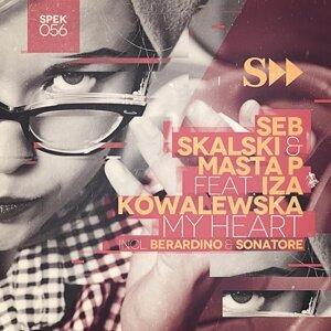 Iza Kowalewska, Masta P, Seb Skalski Foto artis
