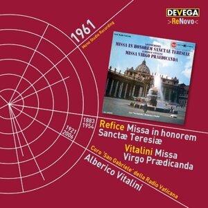 Alberico Vitalini, Coro San Gabriele della Radio Vaticana Foto artis