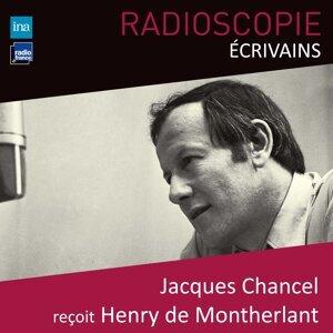 Henry de Montherlant, Jacques Chancel Foto artis