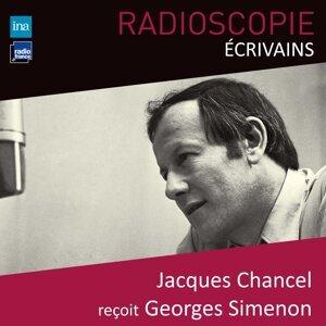 Georges Simenon, Jacques Chancel Foto artis