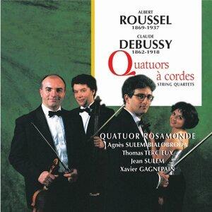Quatuor Rosamonde, Jean Sulem, Agnés Sulem-Bialobroda, Xavier Gagnepain, Thomas Tercieux Foto artis