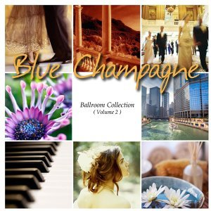 Blue Champagne Foto artis