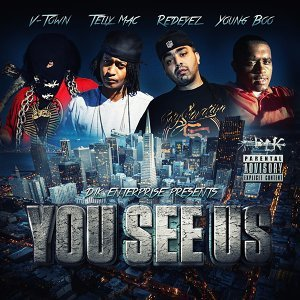 V-Town, Telly Mac, Red Eyez, Young Boo Foto artis