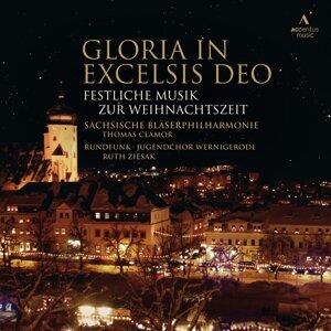 Sächsische Bläserphilharmonie, Rundfunk-Jugendchor Wernigerode, Thomas Clamor, Ruth Ziesak & Ensemble Sonora Foto artis