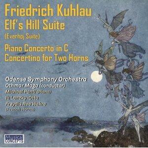 Odense Symphony Orchestra, Othmar Maga, Michael Ponti, Ib Lanzky-Otto & Frøydis Ree Wekre Foto artis