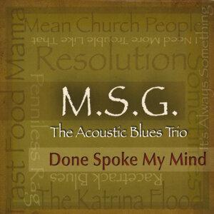 M.S.G. The Acoustic Blues Trio Foto artis