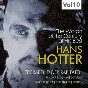 Michael Raucheisen, Hans Hotter, Hilde Scheppan Foto artis