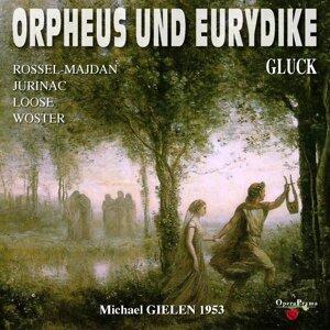 Michael Gielen, Grosses Wiener Rundfunkorchester, Hilde Rössel-Majdan, Emmy Loose, Sena Jurinac Foto artis
