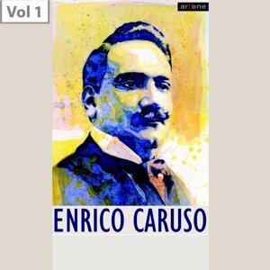 Enrico Caruso Orchestra, Enrico Caruso, Josef Pasternack, Amelita Galli-Curci, Minnie Egener, Angelo Bada, Giuseppe de Luca, Marcel Journet Foto artis