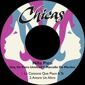 Nilla Pizzi, Orquesta De Piero Umiliani Y Marcello De Martino Foto artis