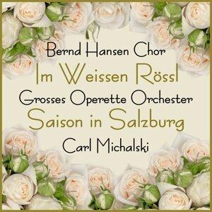 Bernd Hansen Chor, Grosses Operette Orchester, Carl Michalski Foto artis