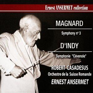 Ernest Ansermet, Orchestre de la Suisse romande, Robert Casadesus Foto artis