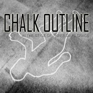 Chalk Outline Foto artis