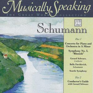 G Schwarz, Bella Davidovich Schumann, Seattle Symphony Orchestra Foto artis