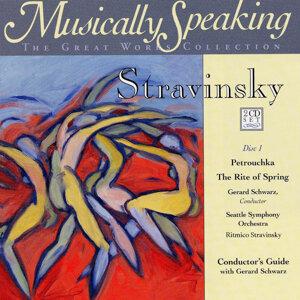Gerard Schwarz, Seattle Symphony Orchestra, Ritmico Stravinsky Foto artis