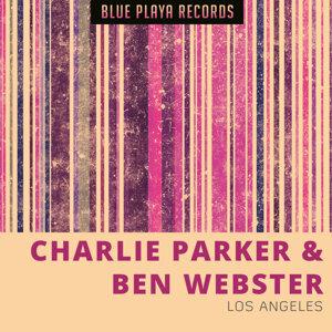 Charlie Parker, Ben Webster Foto artis