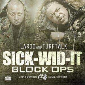 Laroo T.H.H., Turf Talk Foto artis