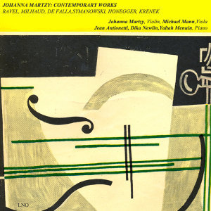 Johanna Martzy (Violin)| Michael Mann (Viola)| Jean Antionietti | Dika Newlin | Yaltah Manuhin (Piano) 歌手頭像
