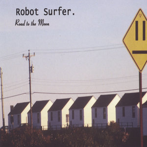 Robot Surfer Foto artis