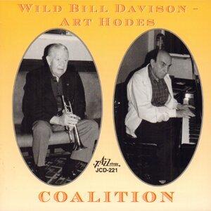 Wild Bill Davison, Art Hodes Foto artis