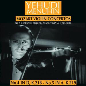The Philharmonia  Orchestra and John Pritchard  with Yehudi Menuhin 歌手頭像