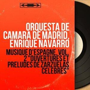 Orquesta de Cámara de Madrid, Enrique Navarro 歌手頭像