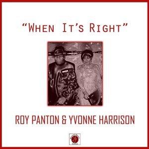 Roy Panton, Yvonne Harrison 歌手頭像