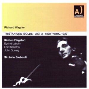 Richard Wagner, New York Philarmonic, Sir John Barbirolli, Kirsten Flagstad, Eyvind Laholm, Enid Szantho, John Gurney, Daniel Harris 歌手頭像