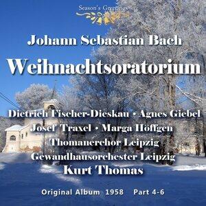Agnes Giebel, Marga Höffgen, Dietrich Fischer-Dieskau, Josef Traxel, Leipzig Gewandhaus Orchestra, Thomanerchor Leipzig, Kurt Thomas 歌手頭像
