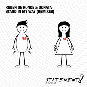 Ruben de Ronde, Donata 歌手頭像