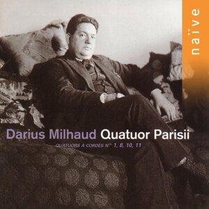 Quatuor Parisii, Thierry Brodard, Jean-Michel Berette, Dominique Lobet, Jean-Philippe Martignoni 歌手頭像