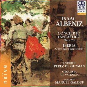 Enrique Pérez de Guzmán, Manuel Galduf, Orquesta de Valencia 歌手頭像