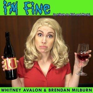 Whitney Avalon, Brendan Milburn 歌手頭像