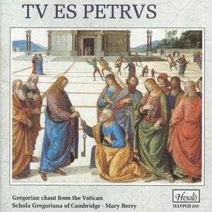 Schola Gregoriana of Cambridge, Mary Berry 歌手頭像