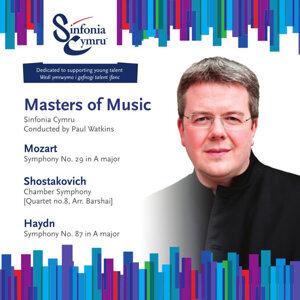 Sinfonia Cymru, Paul Watkins 歌手頭像