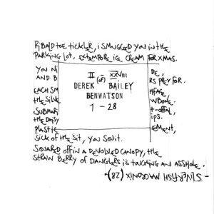 Derek Bailey, Ben Watson 歌手頭像