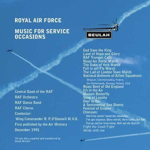 R.P. O'Donnell, Central Band of the RAF, RAF Orchestra, RAF Dance Band and Chorus 歌手頭像