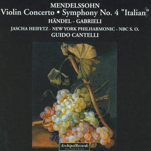 New York Philharmonic Orchestra, Guido Cantelli, Jascha Heifetz, NBC Symphony Orchestra 歌手頭像