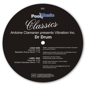 Antoine Clamaran, Vibration Inc 歌手頭像