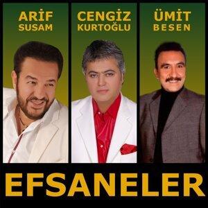Cengiz Kurtoğlu, Ümit Besen, Arif Susam 歌手頭像