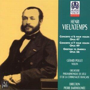 Gérard Poulet, Pierre Bartholomée, Orchestre philharmonique de Liège et de la communauté française 歌手頭像