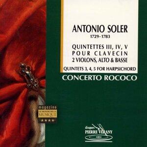 Le Concerto Rococo, Jean-Patrice Brosse, Nicolas Mazzoleni, Roberto Crisafulli, Nadine Davin, Elena Andreyev 歌手頭像