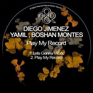 Diego Jimenez, Yamil, Boshan Montes 歌手頭像