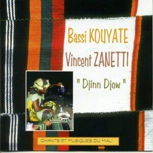Bassi Kouyaté, Vincent Zanetti 歌手頭像