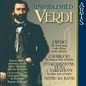 """Orchestra """"Giuseppe Verdi"""" di Busseto, Fausto Pedretti, Coro """"Giuseppe Verdi"""" di Busseto, Antonio Abete, Fausto Tenzi, Rino Vernizzi, Alberto Negroni 歌手頭像"""