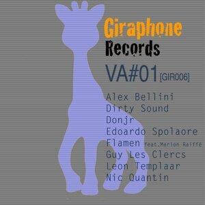 Dirty Sound, Alex Bellini, Donjr, Edoardo Spolaore, Guy Les Clercs, Leon Templaar, Flamen, Nic Quantin, Flamen Feat. Marion Raiffe 歌手頭像