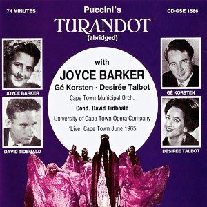 Joyce Barker, Ge Korsten, Desiree Talbot 歌手頭像
