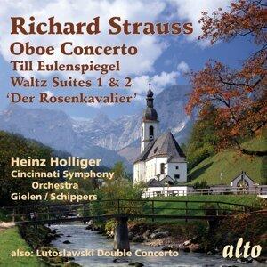 Heinz Holliger, Cincinnati Symphony Orchestra, Michael Gielen, Thomas Schippers & Ursula Holliger 歌手頭像