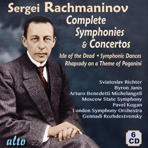 Sviatoslav Richter, Byron Janis, Arturo Benedetti Michelangeli, Moscow State Symphony, London Symphony Orchestra, Pavel Kogan & Gennadi Rozhdestvensky 歌手頭像
